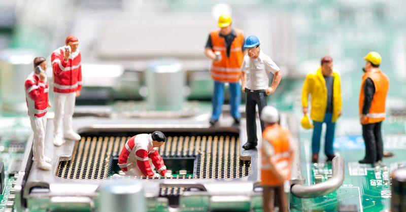 Onderhoud ICT apparatuur